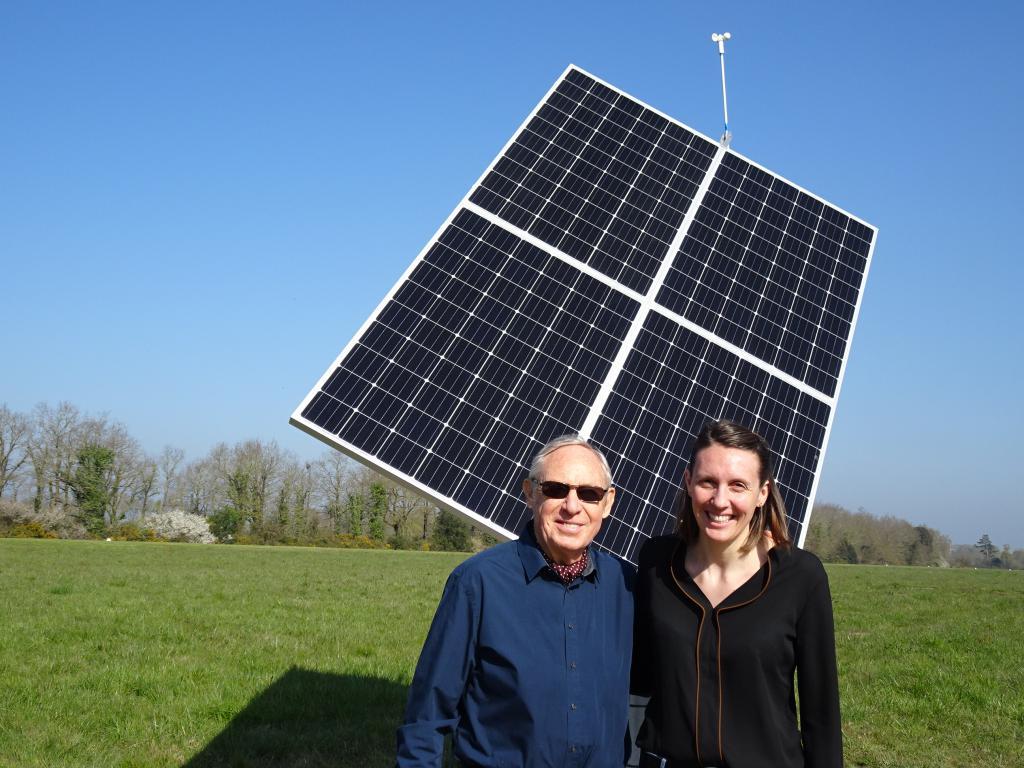 Serge et Aurore : porteurs d'un projet de production d'énergie renouvelable