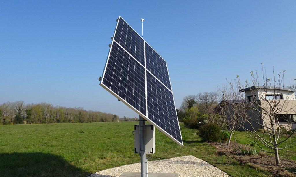 Tournesol le tracker solaire intelligent pour augmenter le rendement de vos panneaux photovoltaiques