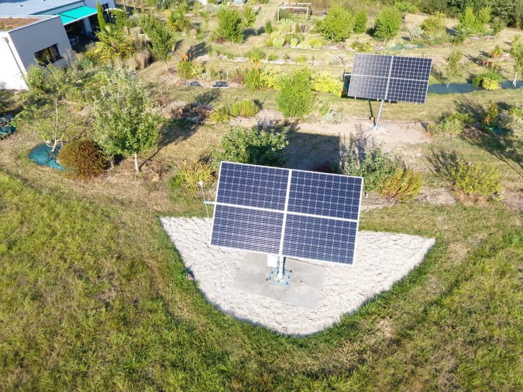 Tracker solaire TOURNESOL 4 panneaux photovoltaïques